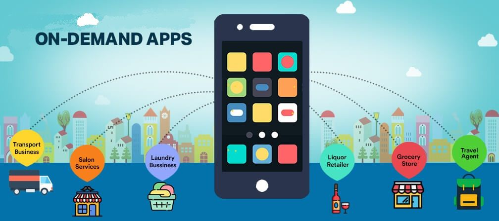 On Demand App Development Company