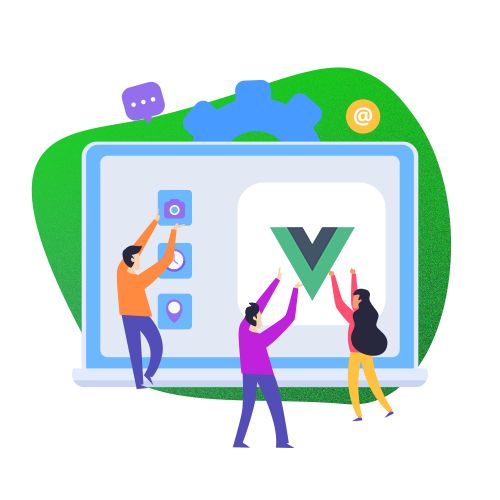 Vue.JS web development services